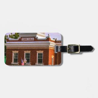 Town Hall Bag Tag