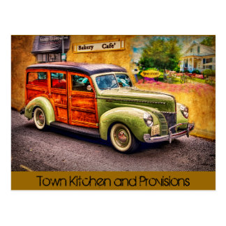 Town Kitchen Postcard
