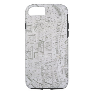 Town map of Constantinople, Turkey, c.1650 (engrav iPhone 7 Case