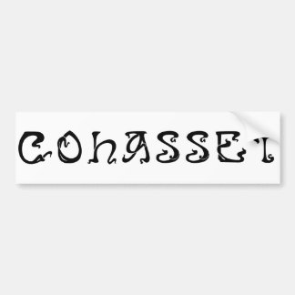 Town of Cohasset MA Bumper Sticker