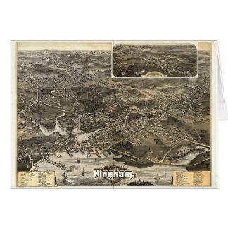 Town of Hingham, Massachusetts (1885) Card