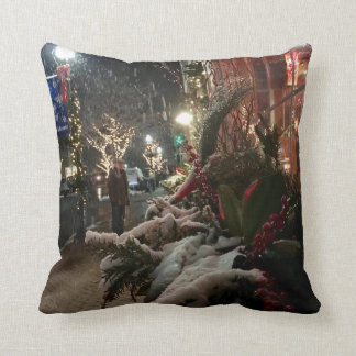 Town of Lewes, Delaware Throw Pillow