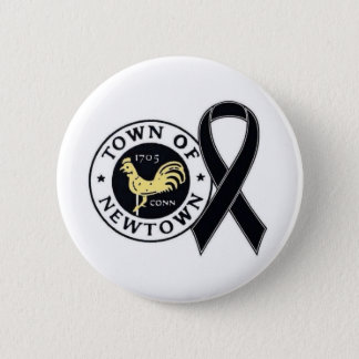 Town of Newtown Tribute Button