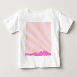 Town Rays Silhouette Grunge Baby T-Shirt