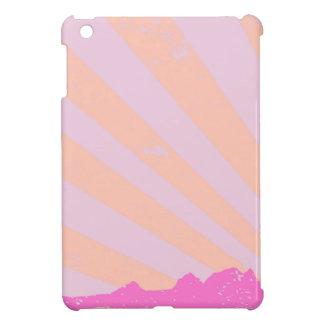 Town Rays Silhouette Grunge iPad Mini Case