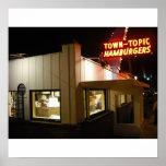 Town Topic Hamburgers Poster