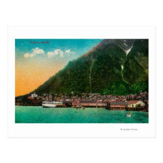 Town View of Juneau, AlaskaJuneau, AK 2 Postcard
