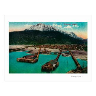 Town View of Skagway, AlaskaSkagway, AK Postcard