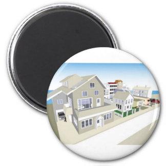 TownandCommunity 2 Inch Round Magnet