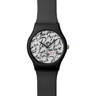 Towns of France Pattern Watch