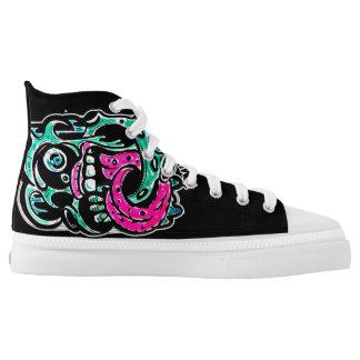 Towny Cartoon Graffiti Shoes