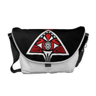 Towny Tribal Graphic Bag Courier Bag