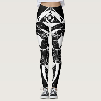 Towny Tribal Graphic Leggings