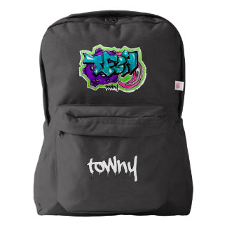 Towny Urban Graffiti Bag