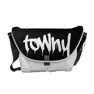 Towny Urban Graffiti Bag Courier Bag