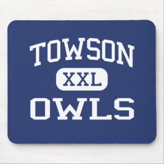 Towson - Owls - Catholic - Towson Maryland Mouse Pad