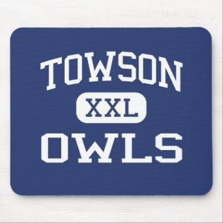 Towson - Owls - Catholic - Towson Maryland Mouse Pad