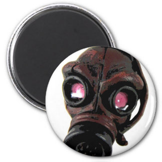 Toxic 2 Inch Round Magnet