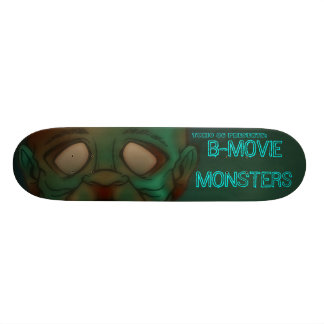 TOXIC 86- B-movie monsters: Zombie Skateboard