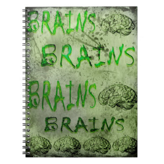 "Toxic Brainz Lined Notebook, 6.5"" x 8.75"" Notebooks"