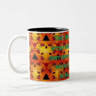 Toxic Burn Two-Tone Coffee Mug