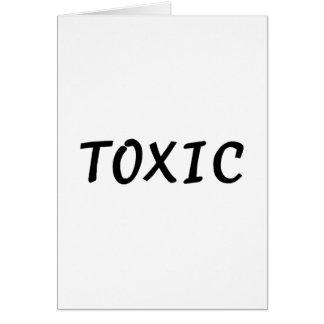 Toxic Card
