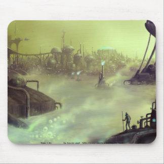 toxic city mousepad