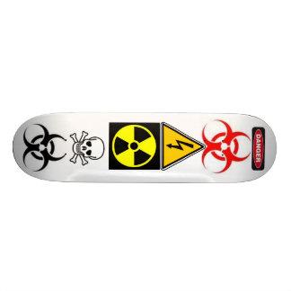 TOXIC CUSTOM SKATE BOARD