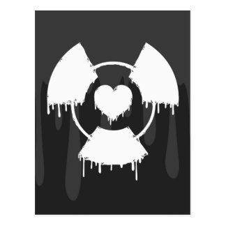 _toxic love postcard
