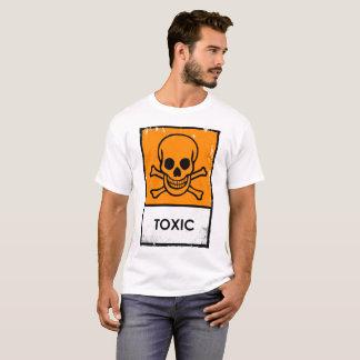 Toxic. Punk Chemical Warning Sign T-Shirt