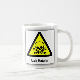 TOXIC SYMBOL MAT COFFEE MUG