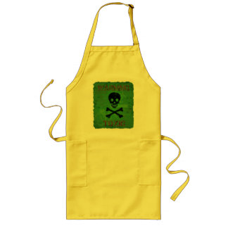 Toxic Warning Apron