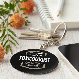 Toxicologist Logo Gift Ideas Keychain