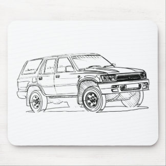 Toy 4Runner gen2 1992+ Mouse Pad