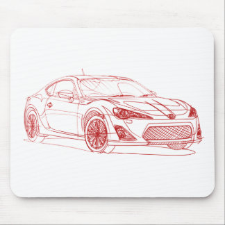 Toy 86 GTS 2012 Mouse Pad