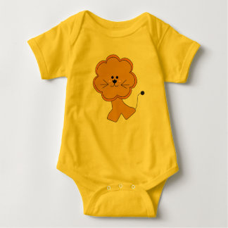 Toy Afriican Lion Baby Bodysuit