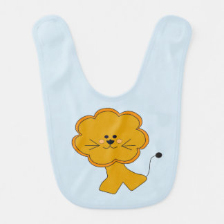 Toy Afriican Lion Bib