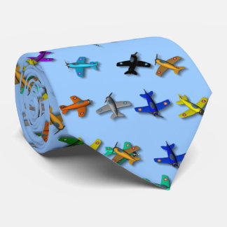 Toy Airplane Tie