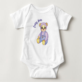 Toy baby bear cute pants with baby bodysuit