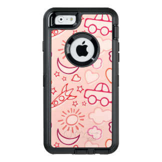 toy background OtterBox iPhone 6/6s case