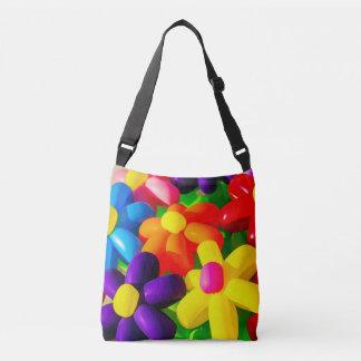 Toy Balloon Flowers Crossbody Bag