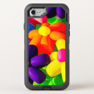 Toy Balloon Flowers OtterBox Defender iPhone 8/7 Case