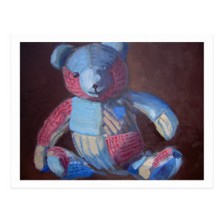 Toy bear postcard