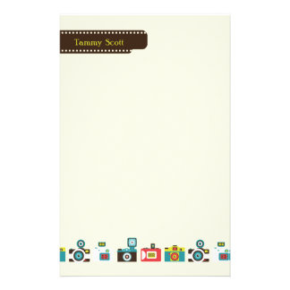 Toy Cameras Personalized Stationery