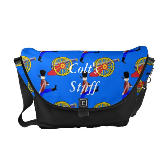 Toy Canon Toy Soldier Child's Commuter Bags