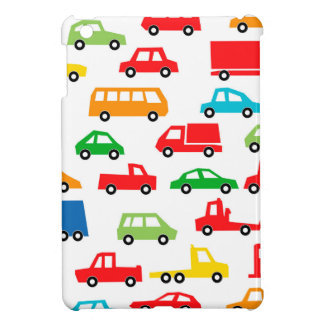 toy car pattern - automobile illustration iPad mini cases