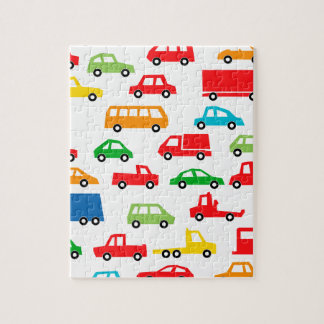 toy car pattern - automobile illustration jigsaw puzzle