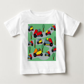 Toy cars pattern 2 baby T-Shirt