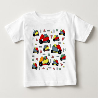 Toy cars pattern baby T-Shirt