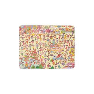 Toy department pocket moleskine notebook